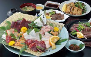 多彩な鯨料理
