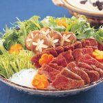 ハリハリ鍋(西日本の代表的鯨料理くじら勝利